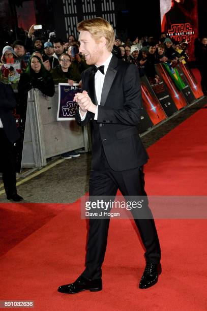 Domhnall Gleeson attends the European Premiere of 'Star Wars The Last Jedi' at Royal Albert Hall on December 12 2017 in London England