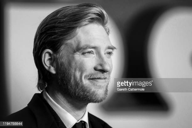 "Domhnall Gleeson attends the European premiere of ""Star Wars: The Rise of Skywalker"" at Cineworld Leicester Square on December 18, 2019 in London,..."