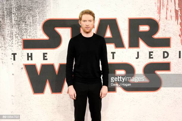 Domhnall Gleeson attends the 'Star Wars The Last Jedi' photocall at Corinthia Hotel London on December 13 2017 in London England