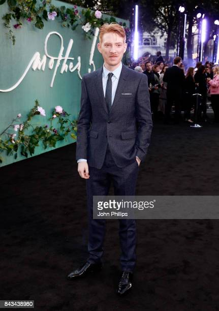 Domhnall Gleeson attends the UK Premiere of mother at the Odeon Leicester Square on September 6 2017 in London England