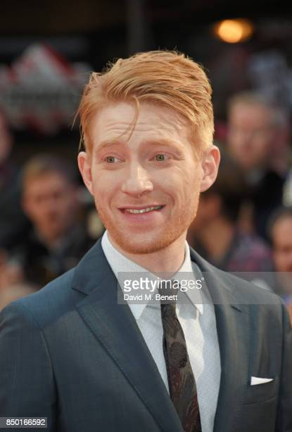 Domhnall Gleeson attends the World Premiere of Goodbye Christopher Robin at Odeon Leicester Square on September 20 2017 in London England