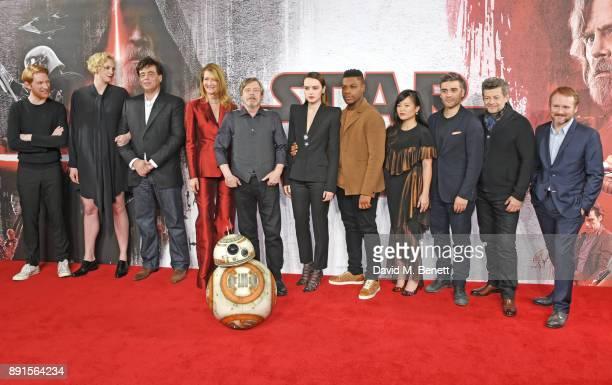 Domhnall Gleeson, Gwendoline Christie, Benicio Del Toro, Laura Dern, Mark Hamill, Daisy Ridley, John Boyega, Kelly Marie Tran, Oscar Isaac, Andy...