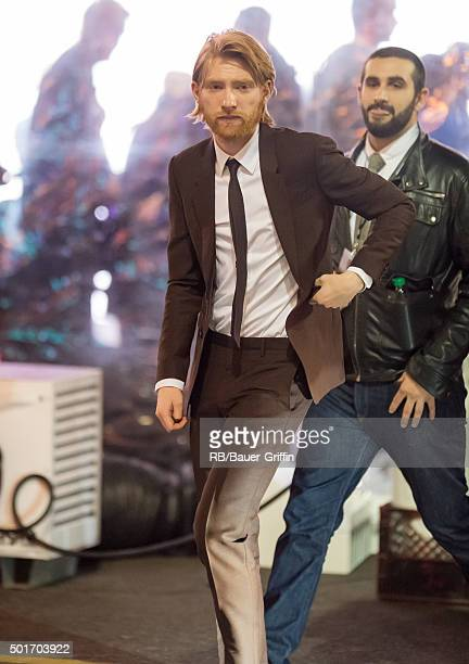 Domhnall Gleeson is seen on December 16 2015 in Los Angeles California