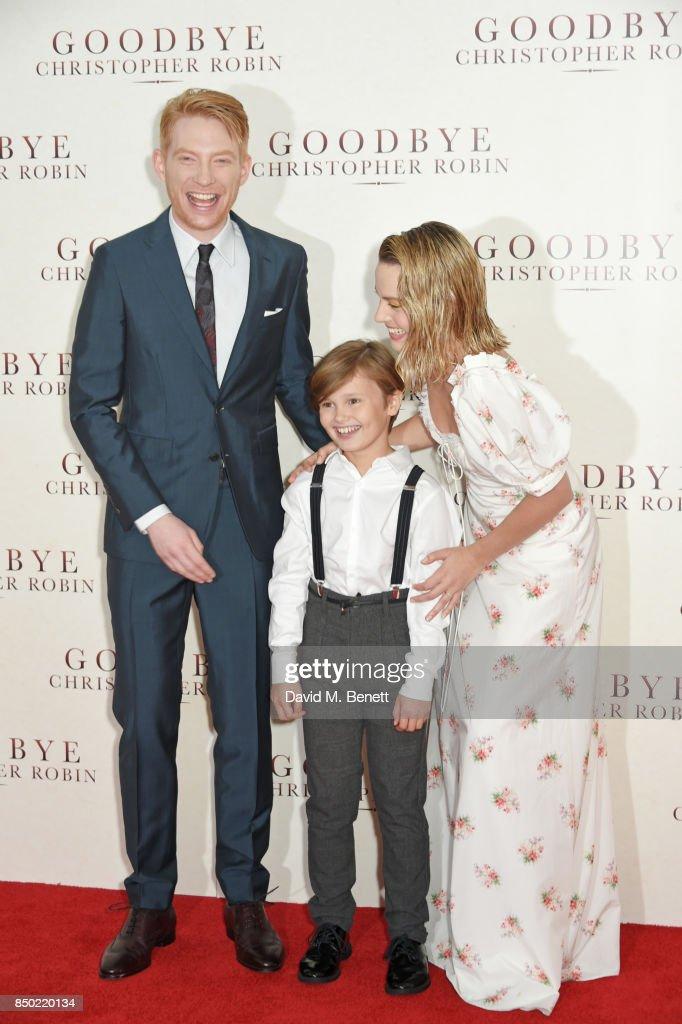 """Goodbye Christopher Robin"" - World Premiere - VIP Arrivals : News Photo"