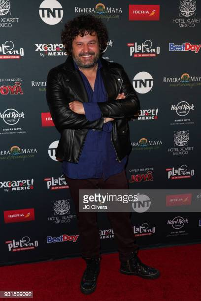 Domingo Zapata attends the 5th Annual Premios PLATINO Of Iberoamerican Cinema Nominations Announcement at Hollywood Roosevelt Hotel on March 13 2018...
