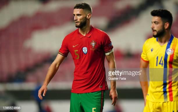 Domingos Duarte of Portugal and Granada during the International Friendly match between Portugal and Andorra at Estadio da Luz on November 11, 2020...