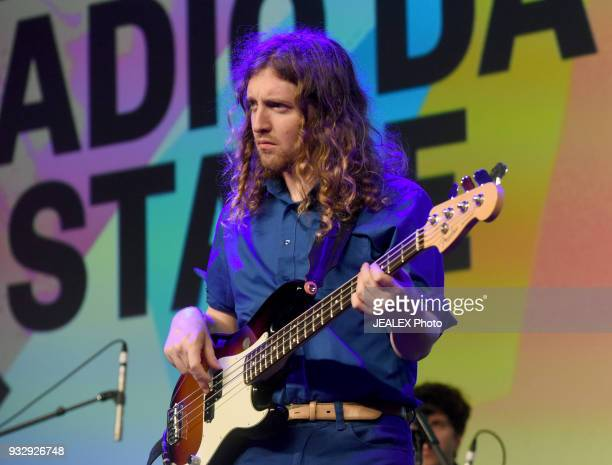 Dominic Angelella performs at Radio Day Stage during SXSW at Radio Day Stage on March 16 2018 in Austin Texas