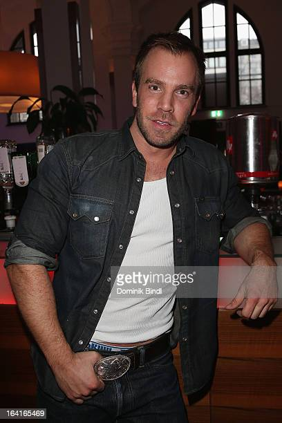 Dominic Boeer attends the Ndf Afterwork Party at 8 Seasons on March 20 2013 in Munich Germany