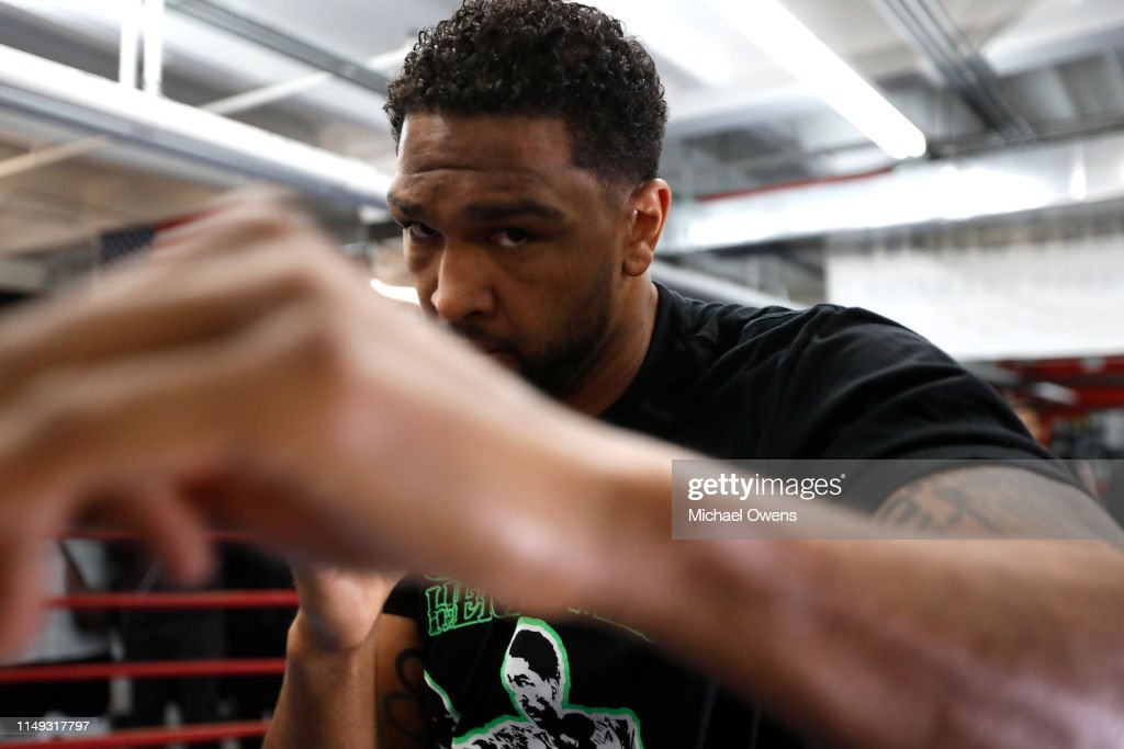 Deontay Wilder v Dominic Breazeale - Media Workout : News Photo