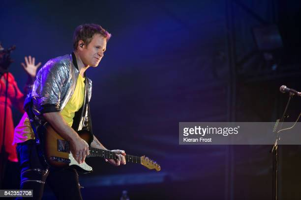 Dominic Brown of Duran Duran perform at Electric Picnic Festival at Stradbally Hall Estate on September 3 2017 in Laois Ireland