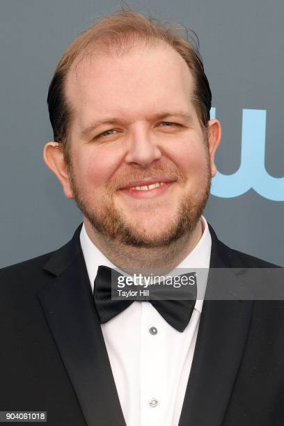 Dominic Burgess attends the 23rd Annual Critics' Choice Awards at Barker Hangar on January 11 2018 in Santa Monica California