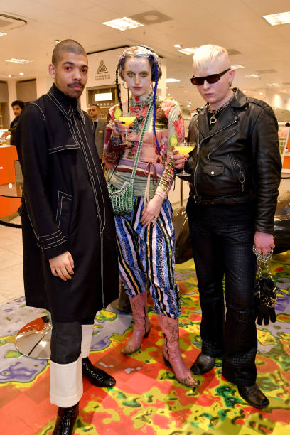 GBR: The launch Of Dazed Beauty Space At Selfridges