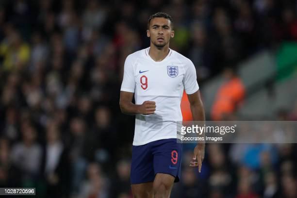 Dominic Calvert Lewin of England U21 during the match between England U21 v Holland U21 at the Carrow Road on September 6 2018 in Norwich United...