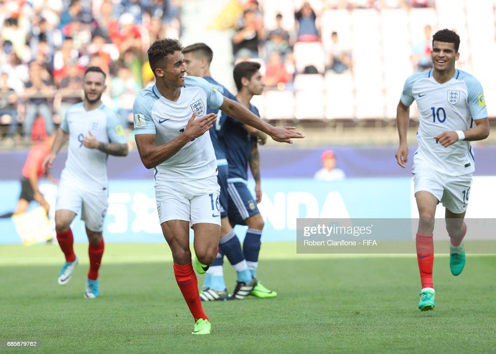 Argentina v England - FIFA U-20 World Cup Korea Republic 2017 : Nachrichtenfoto