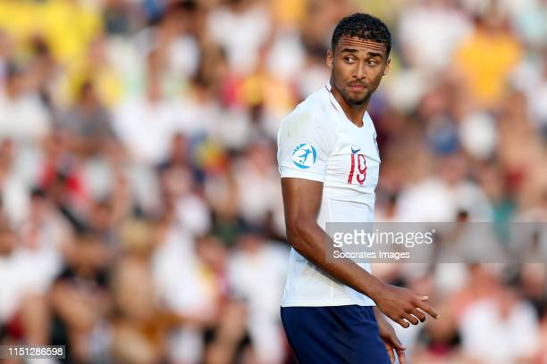 Dominic CalvertLewin of England U21 during the EURO U21 match between England v Romania at the Orogel StadiumDino Manuzzi on June 21 2019 in Cesena...