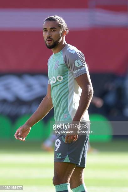 Dominic CalvertLewin of Everton before the Premier League match between Southampton and Everton at St Mary's Stadium on October 25 2020 in...