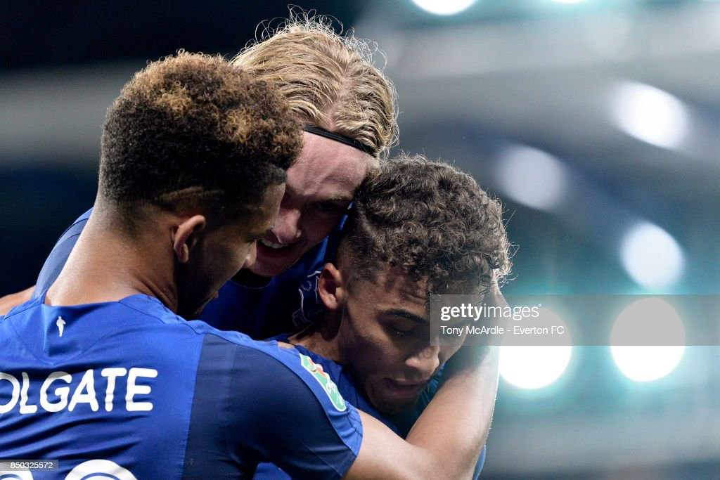 Everton v Sunderland - Carabao Cup Third Round : News Photo