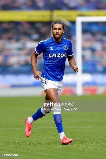 Dominic CalvertLewin of Everton during the PreSeason Friendly match between Everton and Preston North End at Goodison Park on September 5 2020 in...