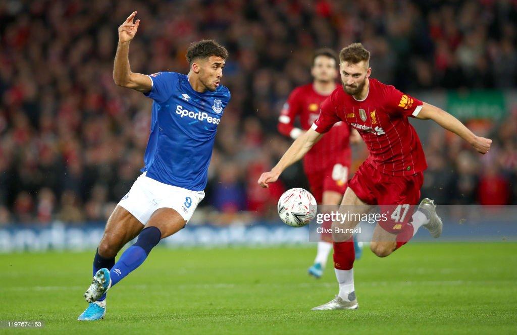 Liverpool FC v Everton FC - FA Cup Third Round : Nachrichtenfoto