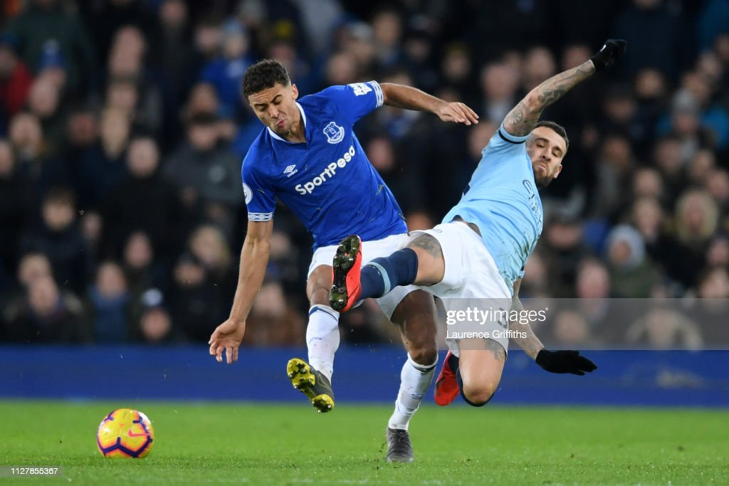 GBR: Everton FC v  Manchester City - Premier League
