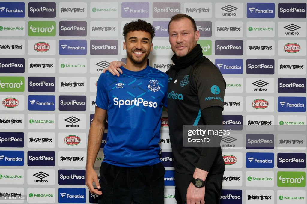 Dominic Calvert-Lewin Signs a New Contract at Everton : News Photo