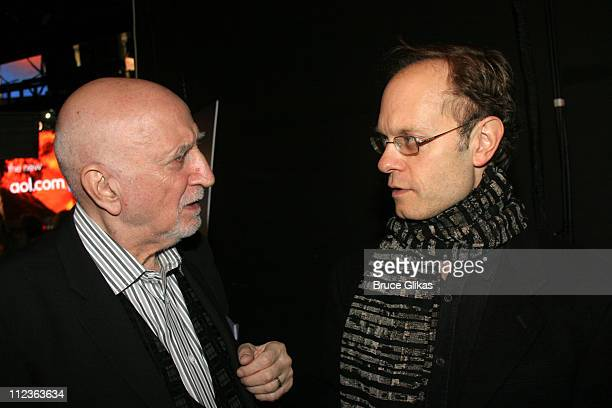 Dominic Chianese and David Hyde Pierce *Exclusive Coverage*