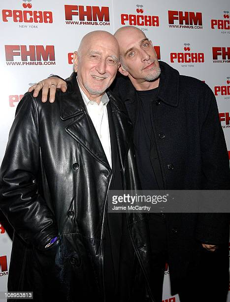 Dominic Chianese and Dominic Chianese Jr during Pacha New York Celebrates OneYear Anniversary with Hosts Jamie Lynn Sigler and Robert Iler at Pacha...