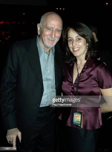 Dominic Chianese and Gillian Grisman during Change For Kids 6th Annual Talent Extravaganza at Studio 54 in New York City New York United States