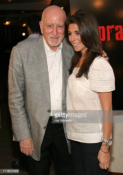 Dominic Chianese and JamieLynn Sigler during New York City Screening of the Series Finale of The Sopranos Arrivals at Home Box Office Theater in New...