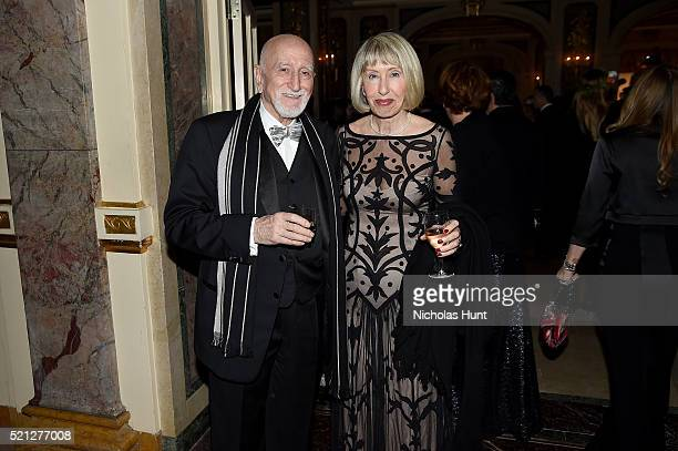 Dominic Chianese and Jane Pittson attend ASPCA 19th Annual Bergh Ball honoring Drew Barrymore hosted by Nathan Lane wiith music by Mark Ronson at the...
