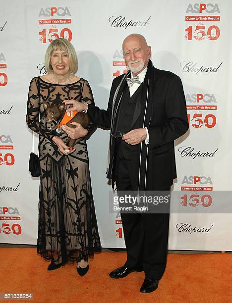 Dominic Chianese and Jane Pittson attend the 19th Annual ASPCA Bergh Ball at The Plaza Hotel on April 14 2016 in New York City