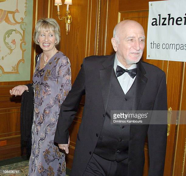 Dominic Chianese and Jane Pittson during Forget Me Not Gala Benefiting The Alzheimer's Association NYC Chapter at The Pierre Hotel in New York City...