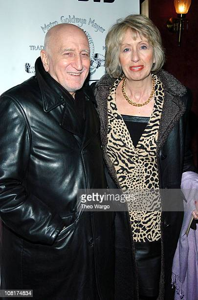 Dominic Chianese and Jane Pittson during Raging Bull 25th Anniversary and Collector's Edition DVD Debut at Ziegfield / Cipriani in New York City New...
