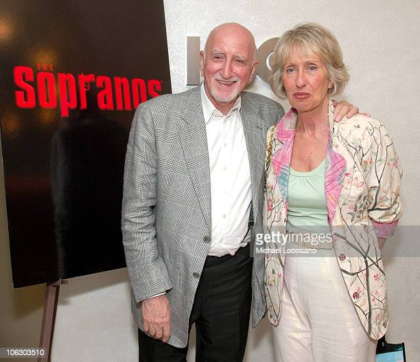 Dominic Chianese and Jane PittsonChianese during The Sopranos Season Finale New York Screening Presented by HBO at HBO Theatre in New York City New...