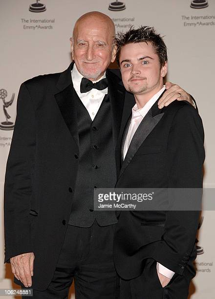 Dominic Chianese and Robert Iler during The 34th International Emmy Awards Gala Press Room at New York Hilton in New York City New York United States
