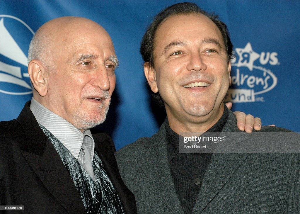 Dominic Chianese and Ruben Blades during New York Chapter of The Recording Academy Celebrates Their 2003 Hero's Awards Gala at The Roosevelt Hotel in New York City, New York, United States.