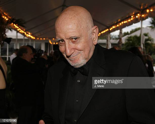 Dominic Chianese arrives for the 2007 Filmmakers' Tribute Dinner on Saturday evening at the Longboat Key Club in Longboat Key Florida on April 21 2007