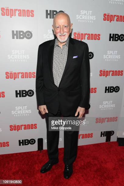Dominic Chianese attends the The Sopranos 20th Anniversary Panel Discussion at SVA Theater on January 09 2019 in New York City