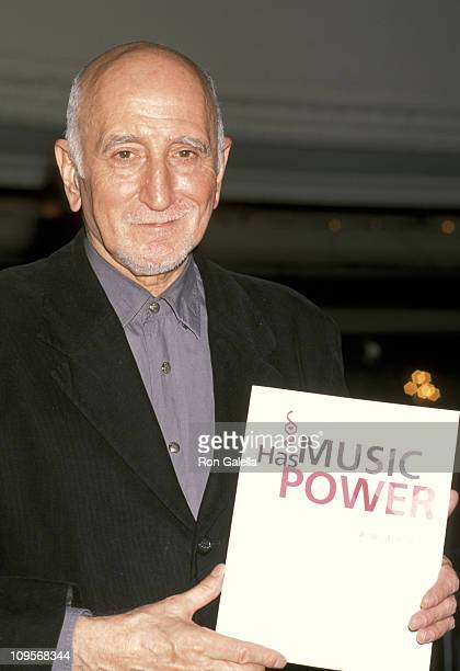 Dominic Chianese during 1st Music Has Power Awards November 27 2000 at Hudson Theater in New York City New York United States