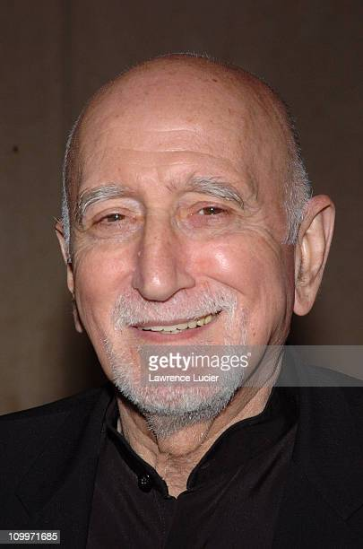 Dominic Chianese during 2005/2006 AE Television Networks UpFront at Rockefeller Center in New York City New York United States