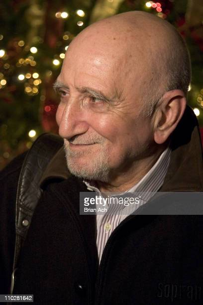 Dominic Chianese during A Wonderful Life Holiday Concert Reading December 12 2005 at The Shubert Theatre in New York City New York United States