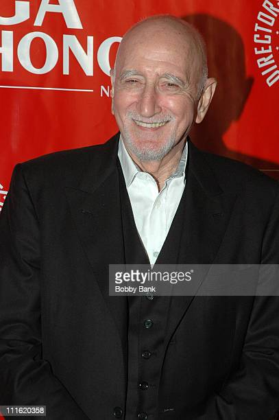 Dominic Chianese during Directors Guild of America Honors David Chase Arrivals October 12 2006 at DGA Building in New York City New York United States