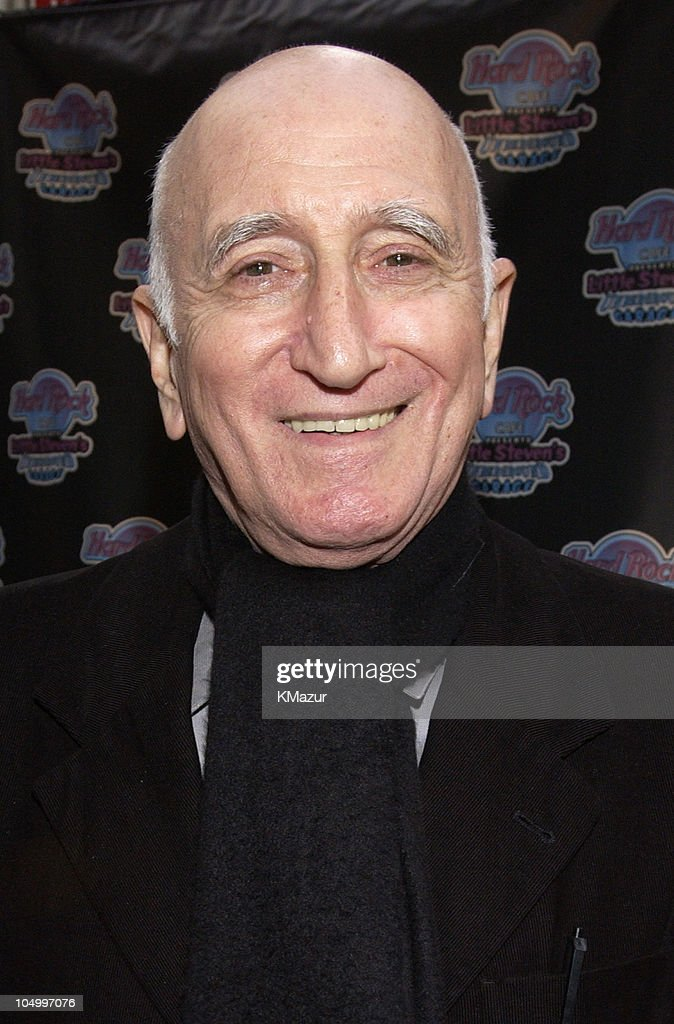Dominic Chianese during Hard Rock Cafe Presents 'Little Steven's Underground Garage' radio show at the Hard Rock Cafe in NYC at Hard Rock Cafe NYC in New York City, New York, United States.