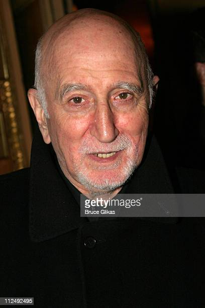 Dominic Chianese during Opening Night for John Patrick Shanley's Doubt on Broadway at The Walter Kerr Theater and The Supper Club in New York City...