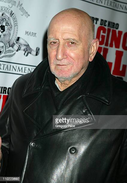 Dominic Chianese during Raging Bull 25th Anniversary and Collector's Edition DVD Release Celebration Inside Arrivals at Ziegfeld Theater in New York...