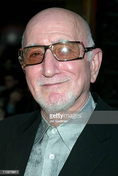 Dominic Chianese during The Sopranos 4th Season Premiere at Radio City Music Hall in New York City New York United States