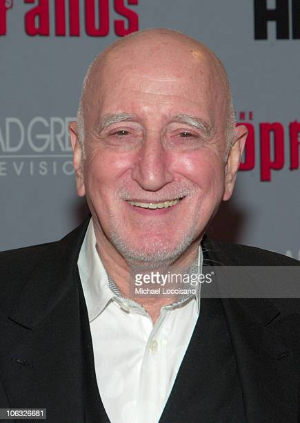 Dominic Chianese during The Sopranos Sixth Season New York City Premiere Arrivals at MoMA 53rd Street in New York City New York United States