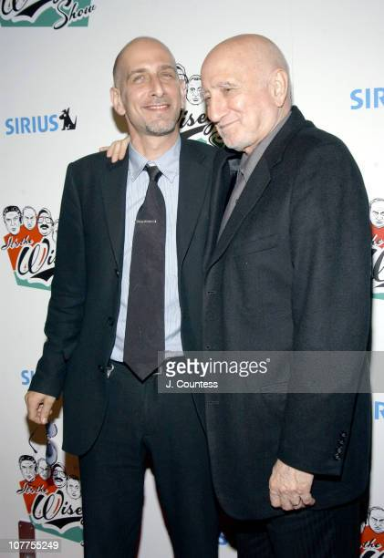 Dominic Chianese Jr and Dominic Chianese during The Wiseguy Show KickOff Event And Dinner Celebration at Il Cortile in New York City New York United...
