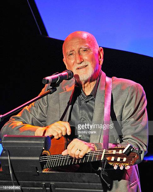 Dominic Chianese performs during A Night In Naples Dominic Chianese at Lorenzo's Cabaret on September 14 2012 in the Staten Island borough of New...