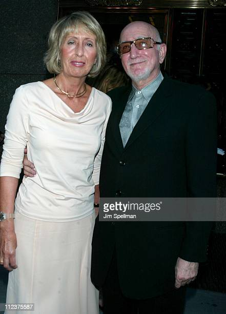 Dominic Chianese wife Jane during The Sopranos 4th Season Premiere at Radio City Music Hall in New York City New York United States